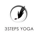 3 steps yoga ロゴデザイン